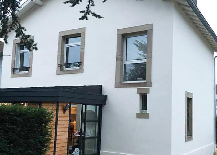 nettoyage de façade Villeurbanne