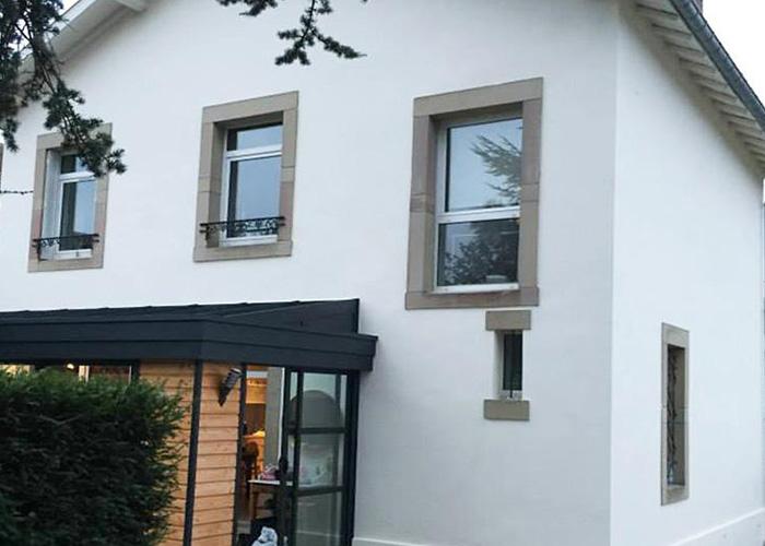 rénovation façade Villeurbanne